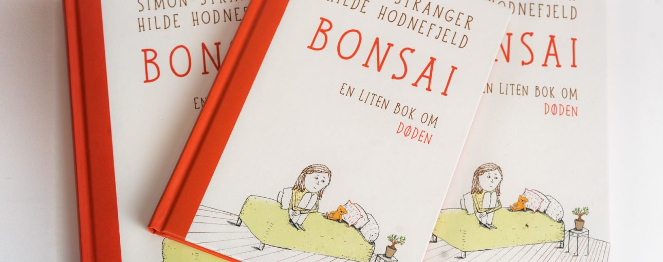 Coveret til barneboken Bonsai.