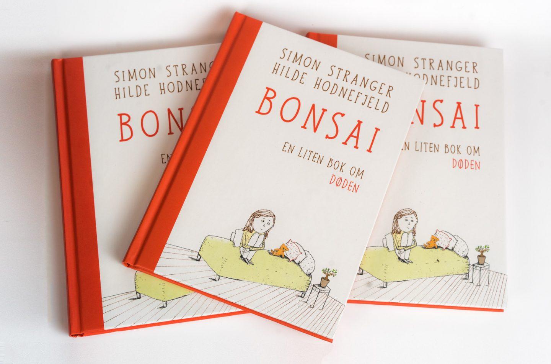 Coveret til barneboken Bonsai.