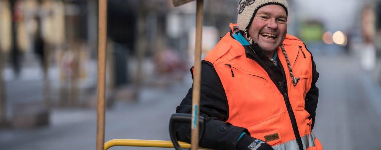 Gaterydding av Arbeidslaget i Lillestrøm